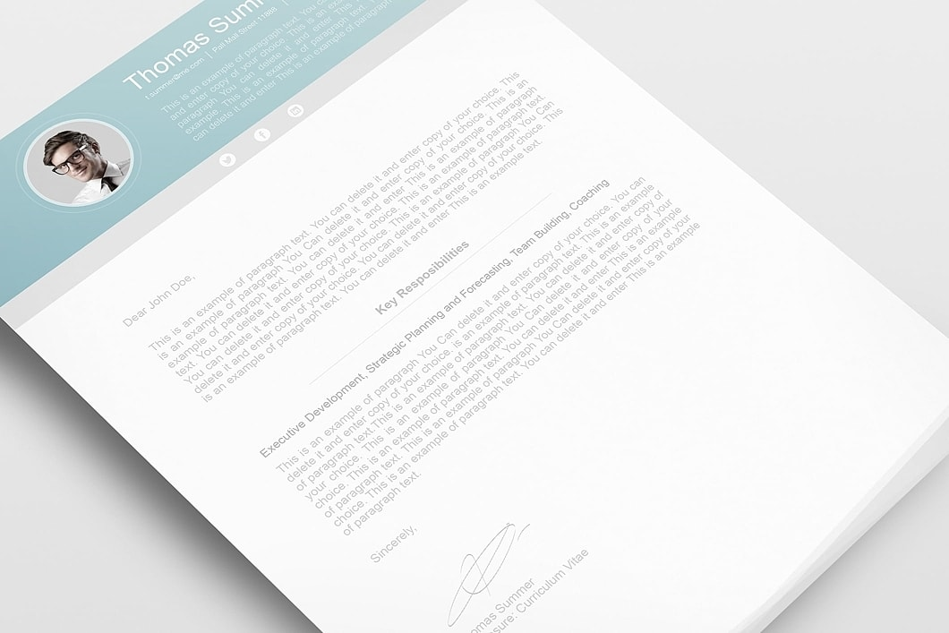 Modern Resume Template 110660 2