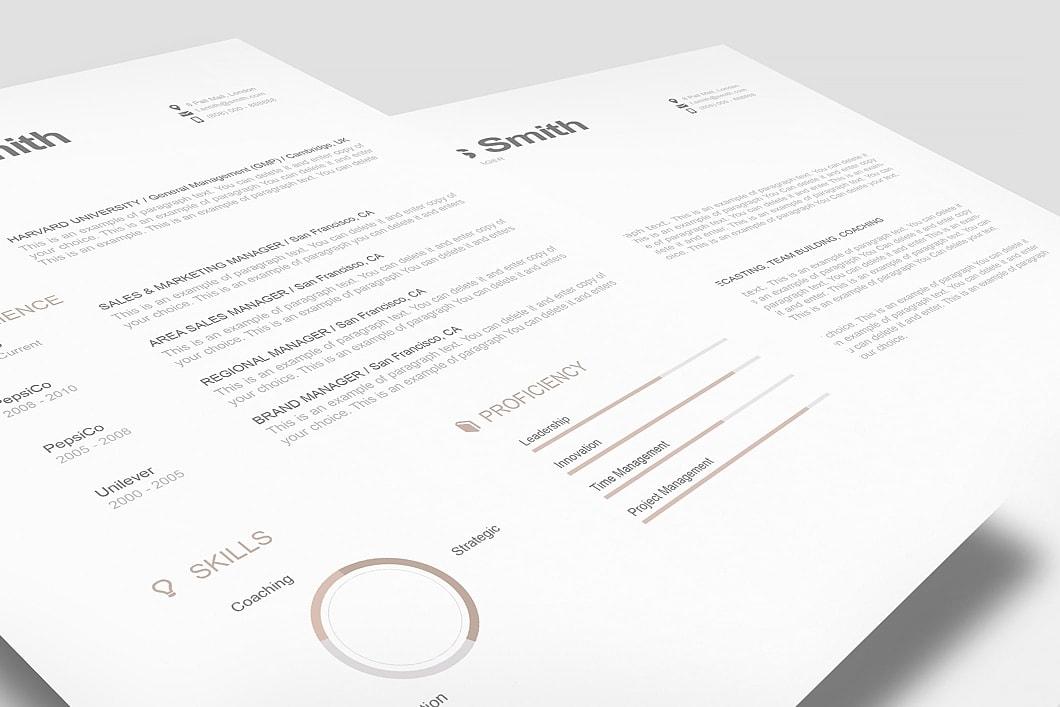Modern Resume Template 110790 1