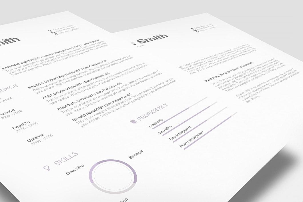 Modern Resume Template 110800 1