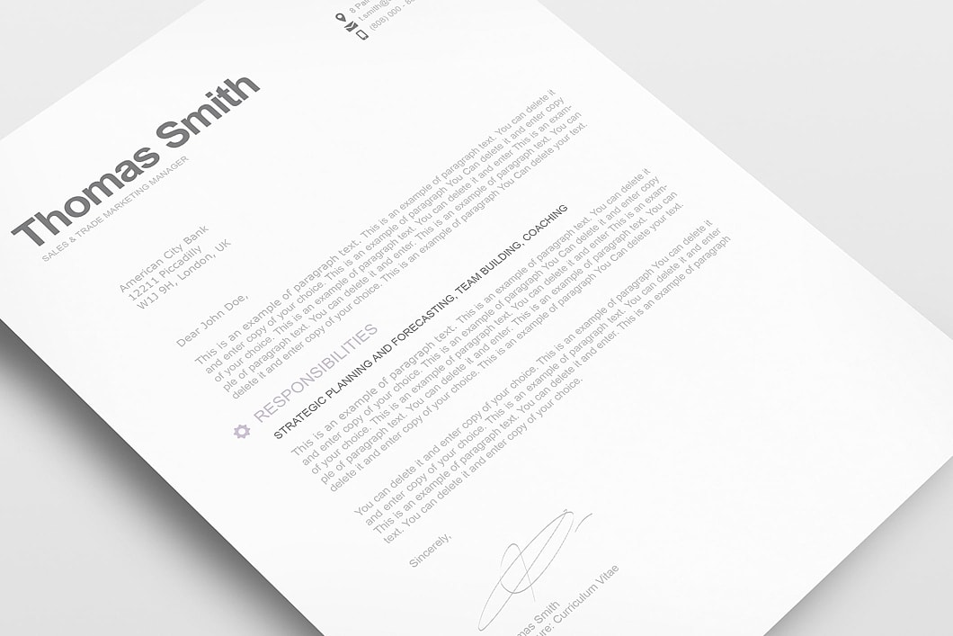 Modern Resume Template 110800 2