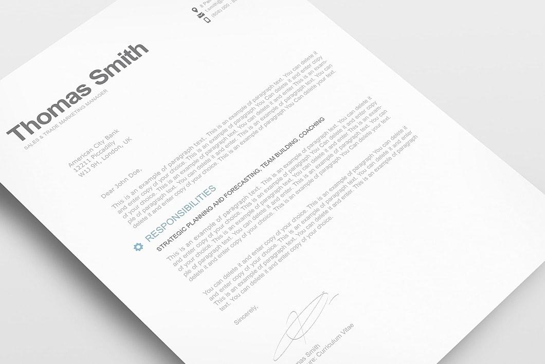 Modern Resume Template 110810 2