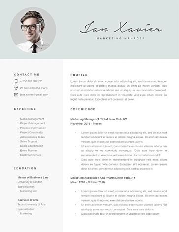 Modern Resume Template 120070