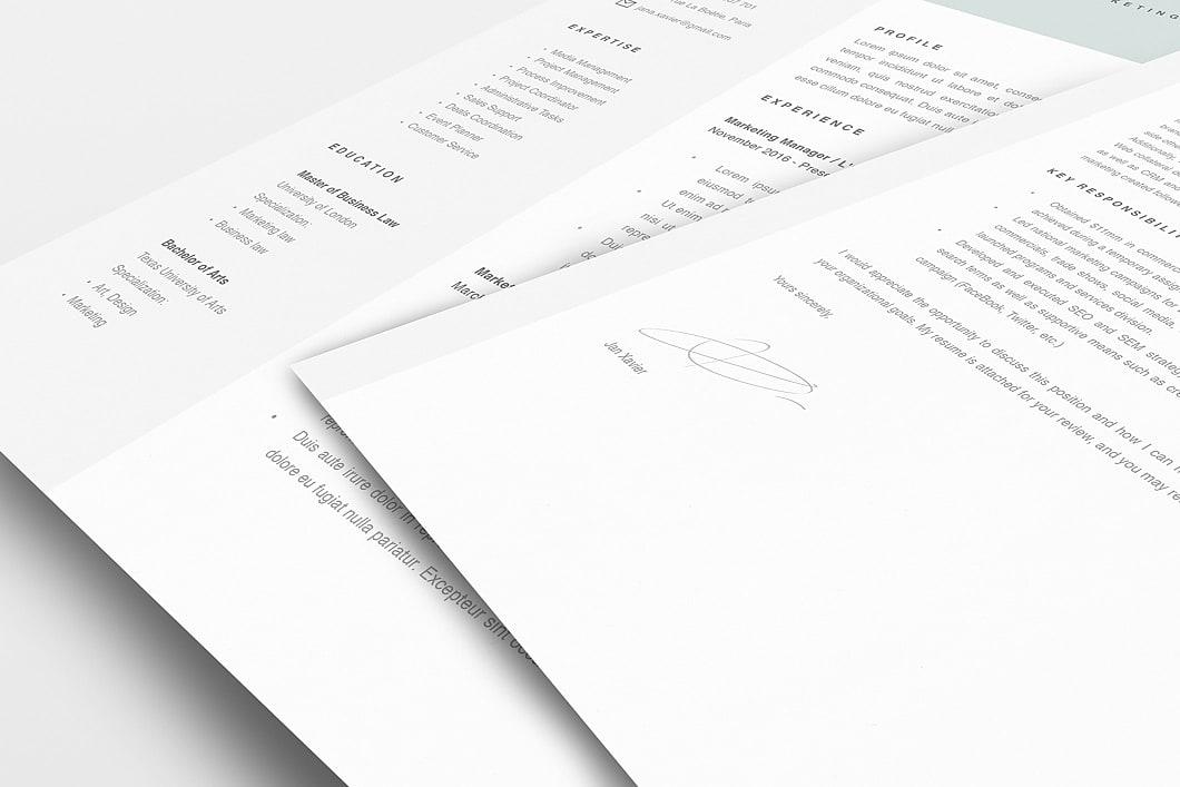 Modern Resume Template 120070 5