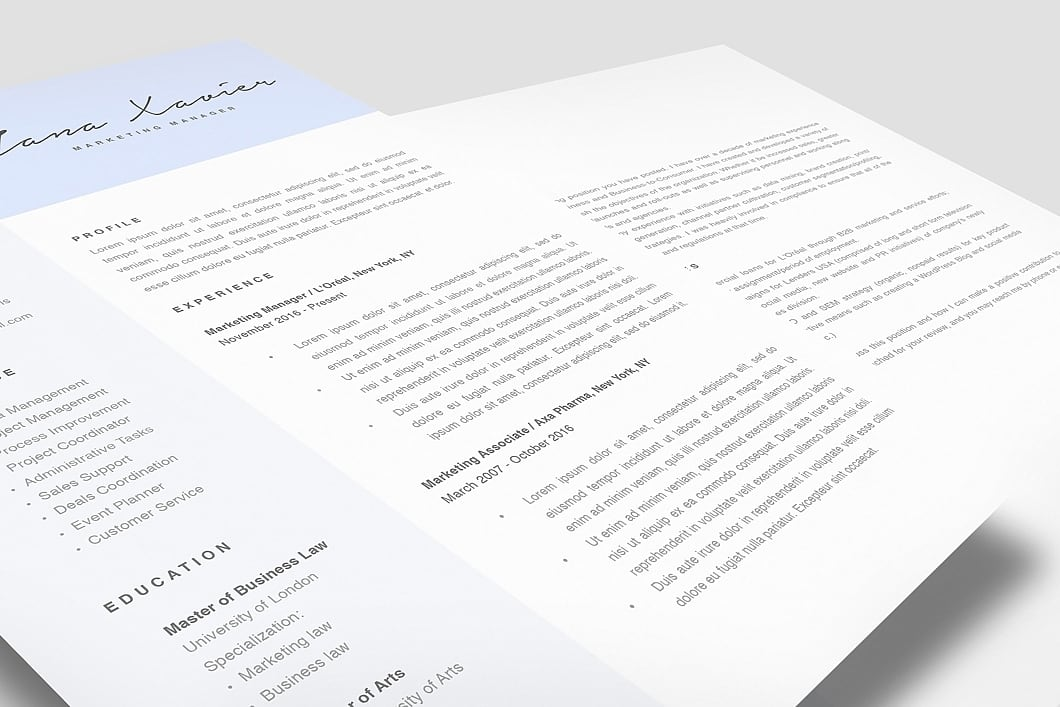Modern Resume Template 120080 2