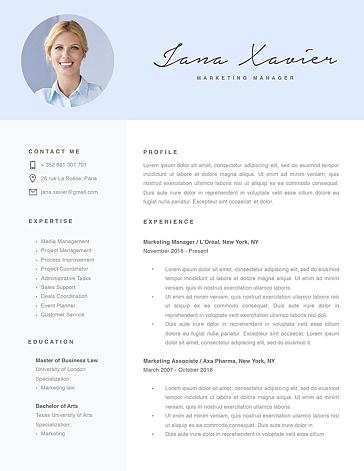 Modern Resume Template 120080