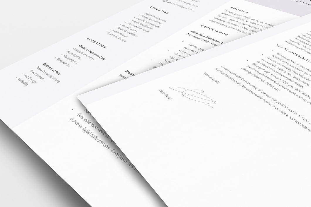 Modern Resume Template 120090 5