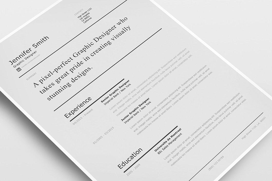 Modern Resume Template 120230 0