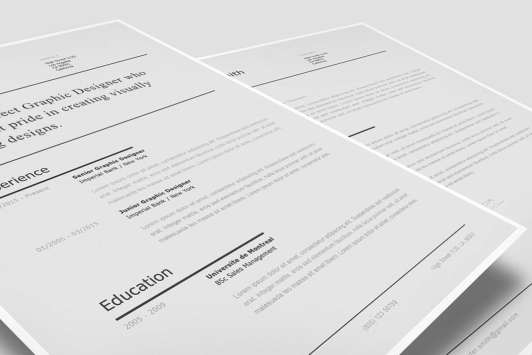 Modern Resume Template 120230 2