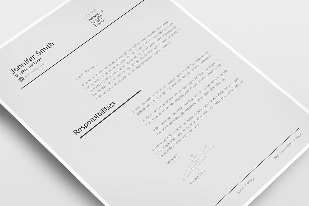 Modern Resume Template 120230 4