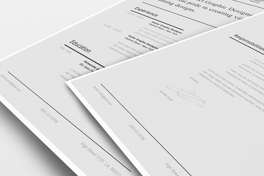 Modern Resume Template 120230 5