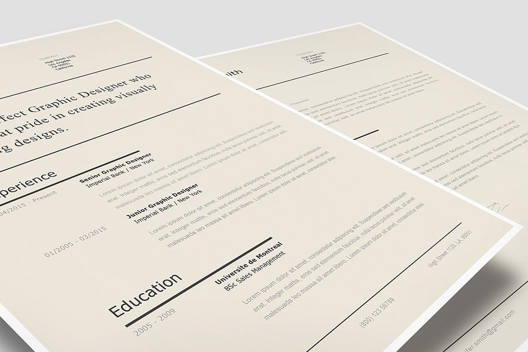 Modern Resume Template 120240 0