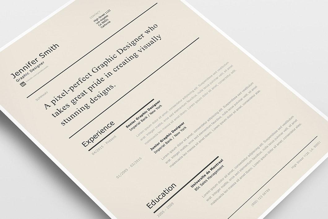 Modern Resume Template 120240 1