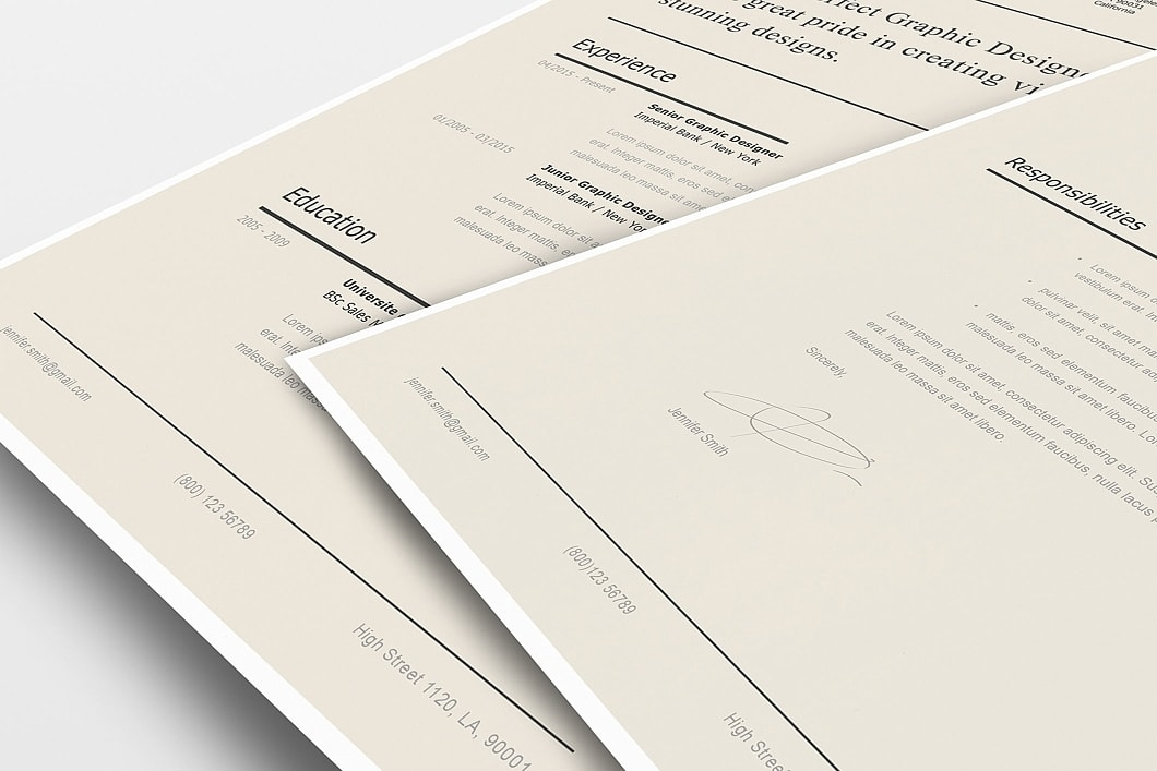 Modern Resume Template 120240 4