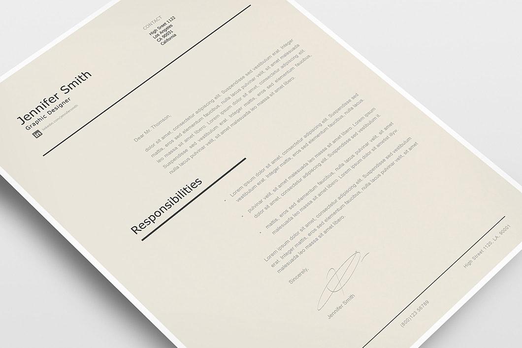 Modern Resume Template 120240 5
