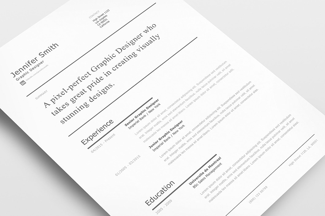 Modern Resume Template 120250 1