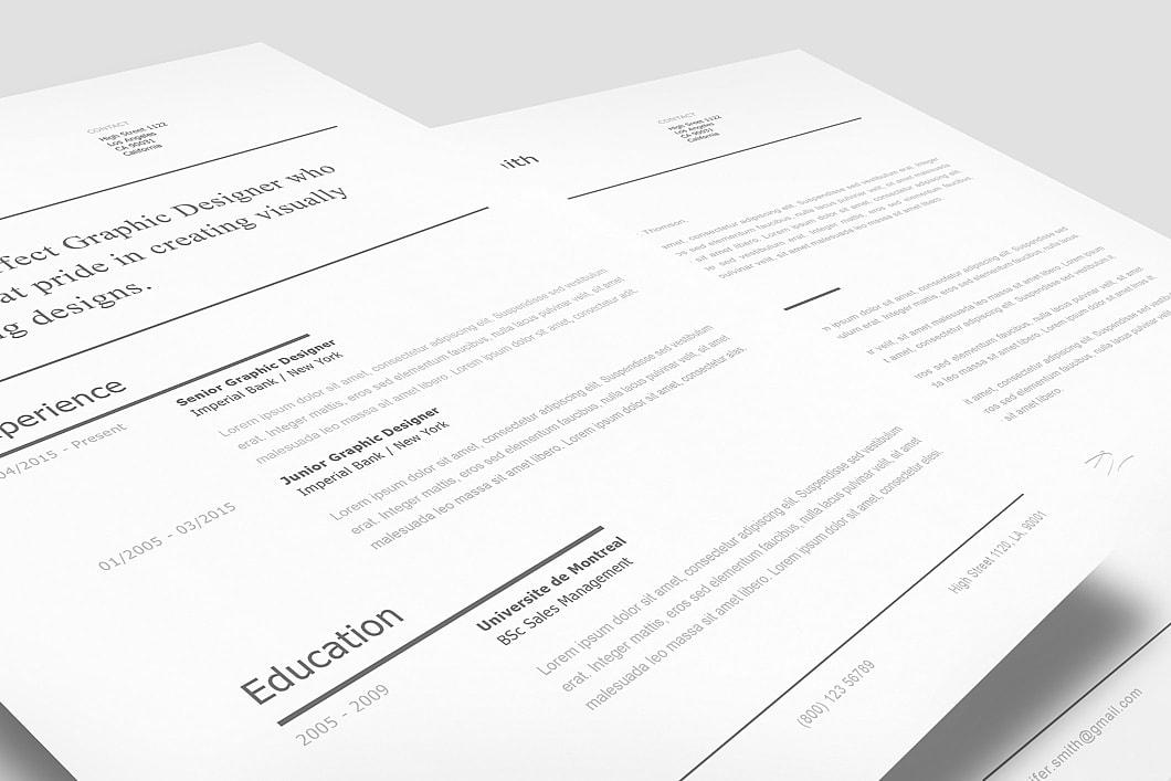 Modern Resume Template 120250 3
