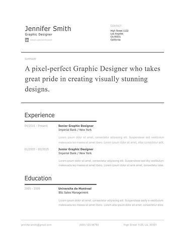Modern Resume Template 120250