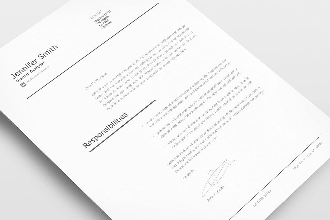 Modern Resume Template 120250 4