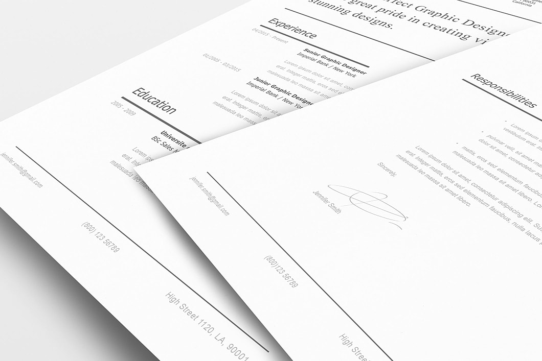 Modern Resume Template 120250 5