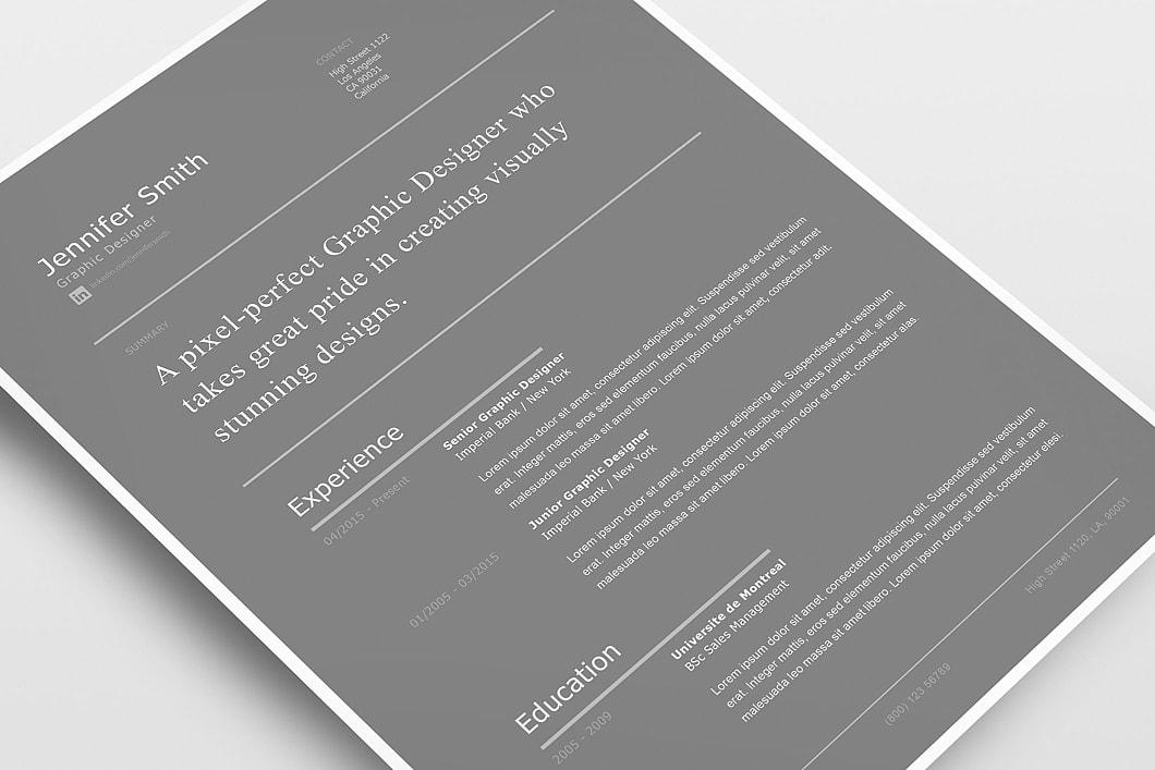 Modern Resume Template 120260 1