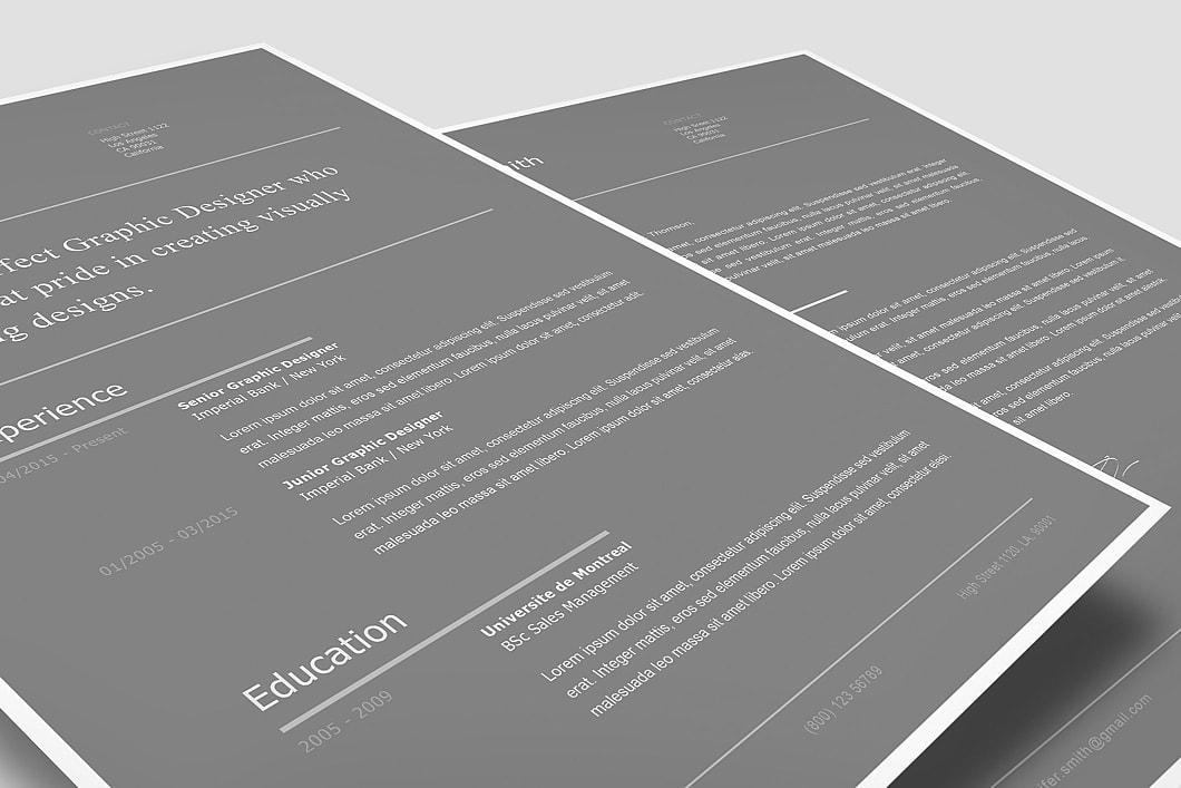 Modern Resume Template 120260 2