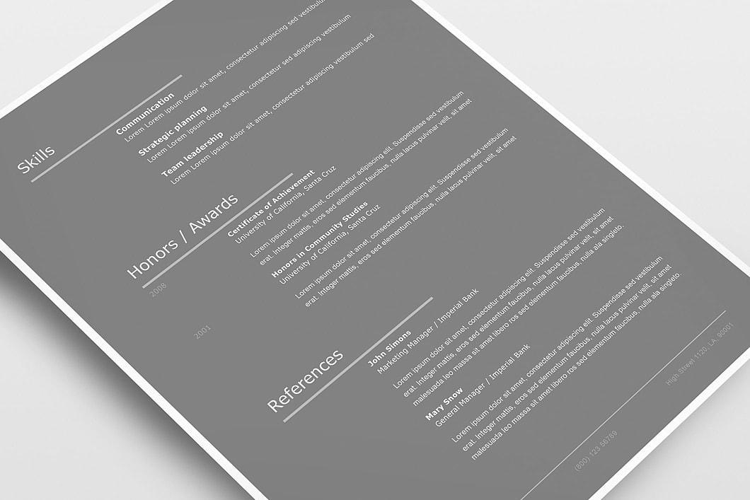 Modern Resume Template 120260 3