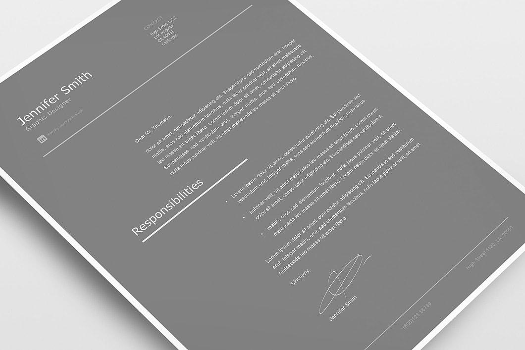 Modern Resume Template 120260 4