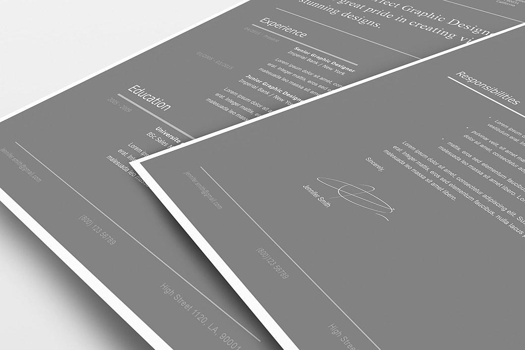 Modern Resume Template 120260 5