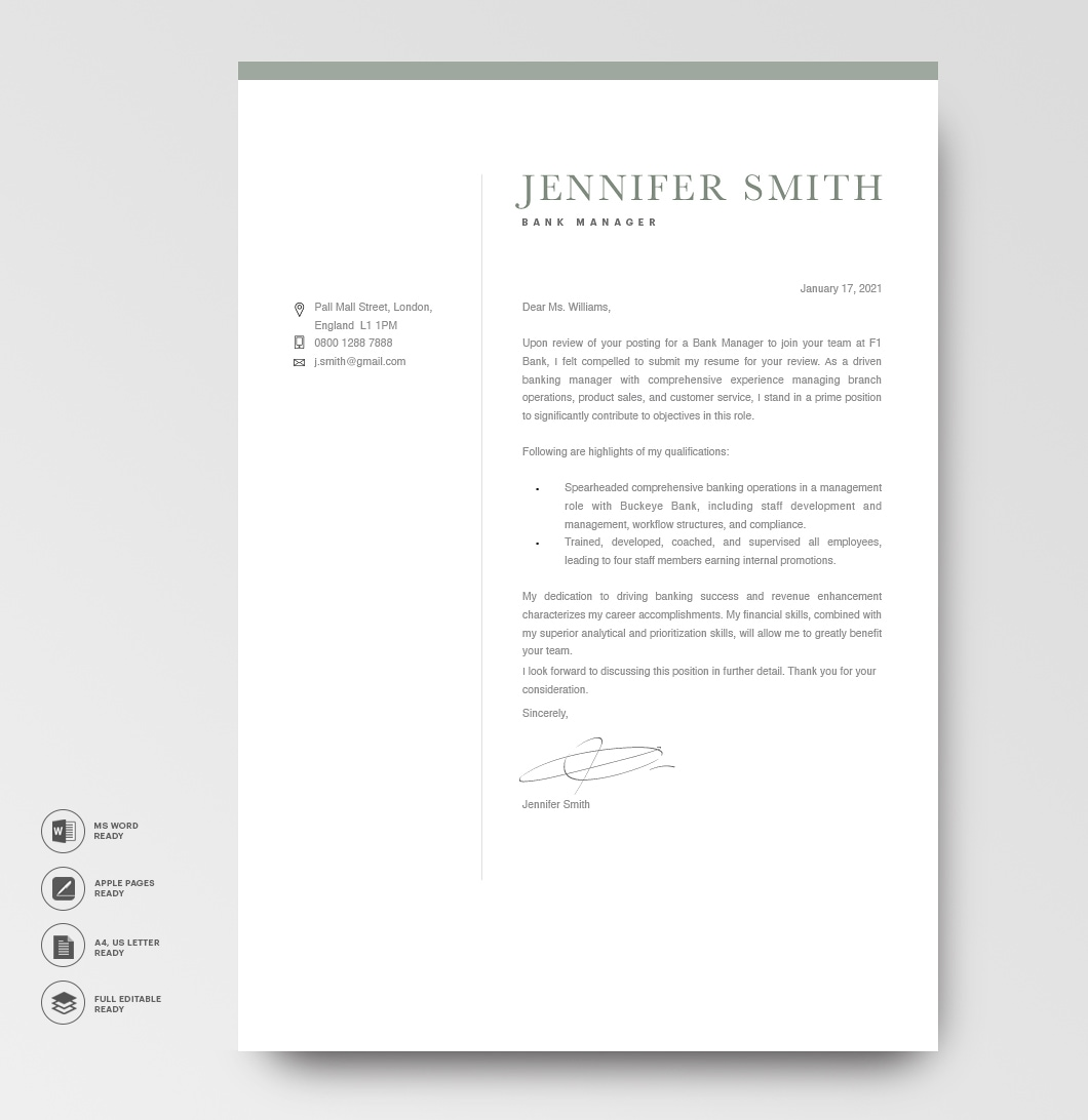 Modern Resume Template 120300 5