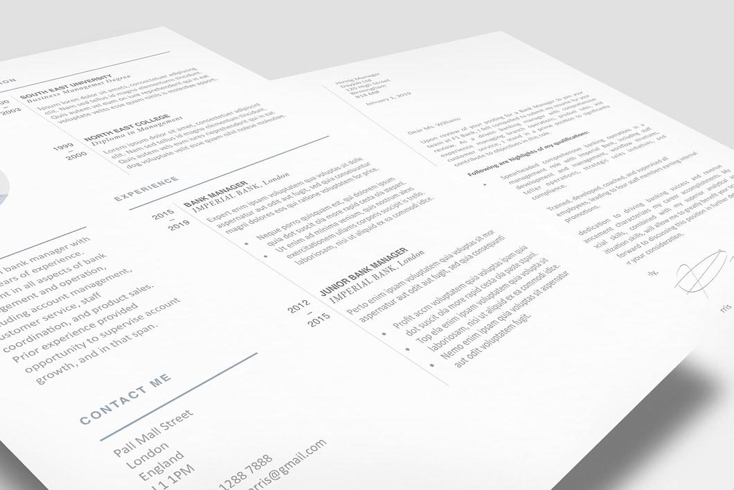 Modern Resume Template 120430 1