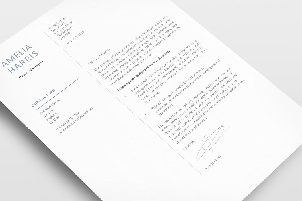 Modern Resume Template 120430 3