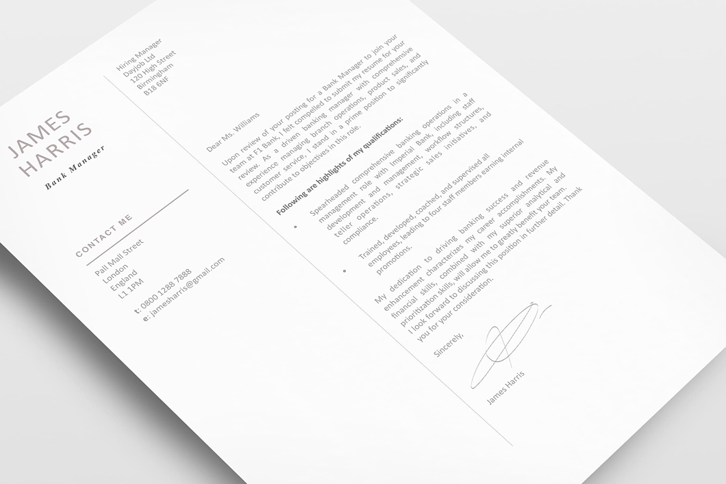 Modern Resume Template 120440 3