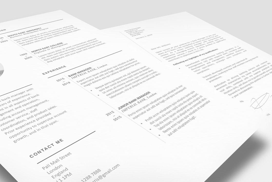 Modern Resume Template 120450 1