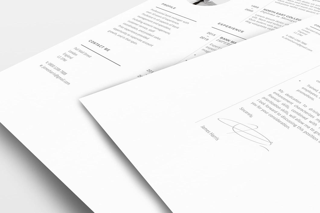 Modern Resume Template 120450 2
