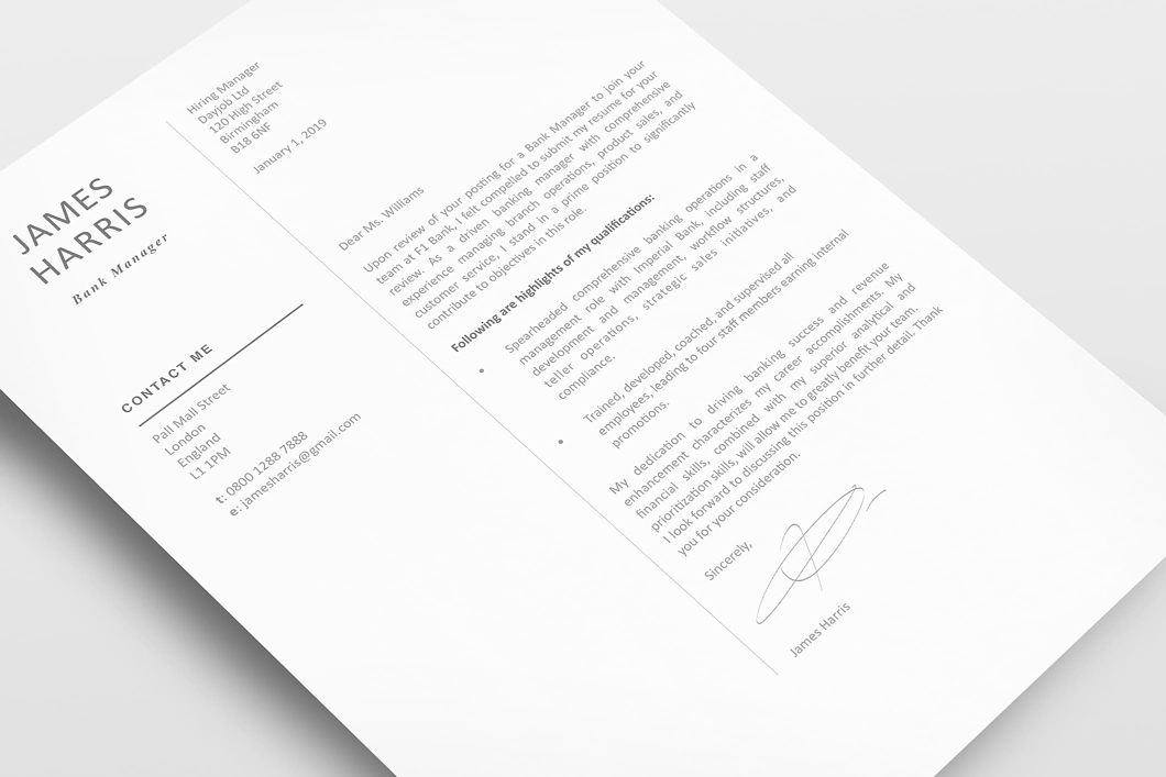 Modern Resume Template 120450 3