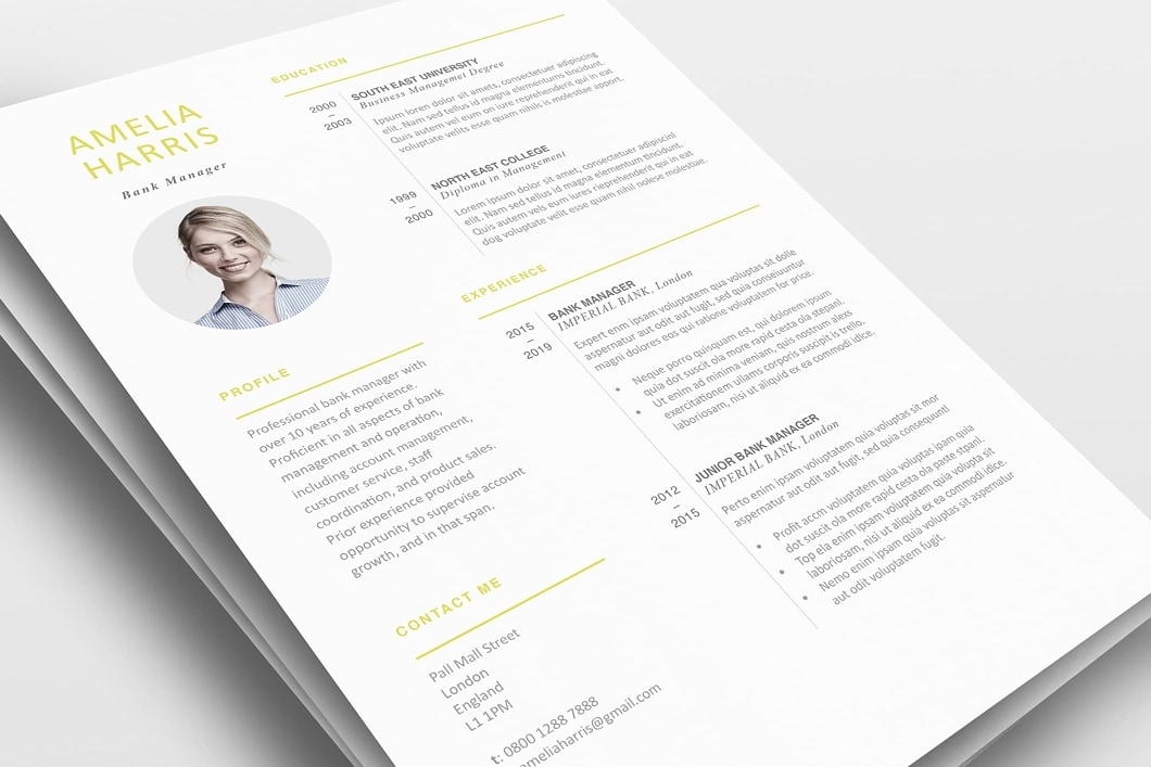 Modern Resume Template 120460 0