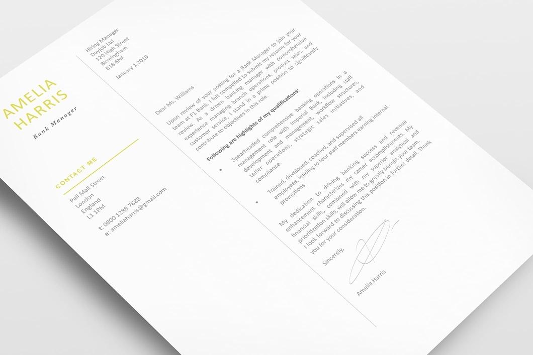 Modern Resume Template 120460 3