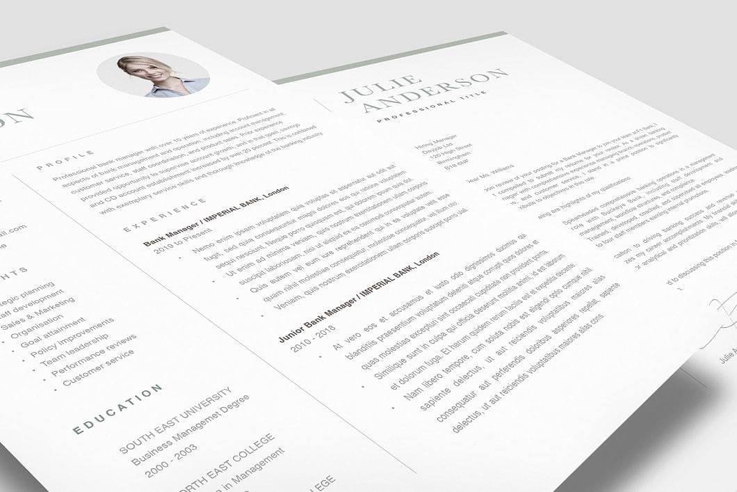 Modern Resume Template 120520 1