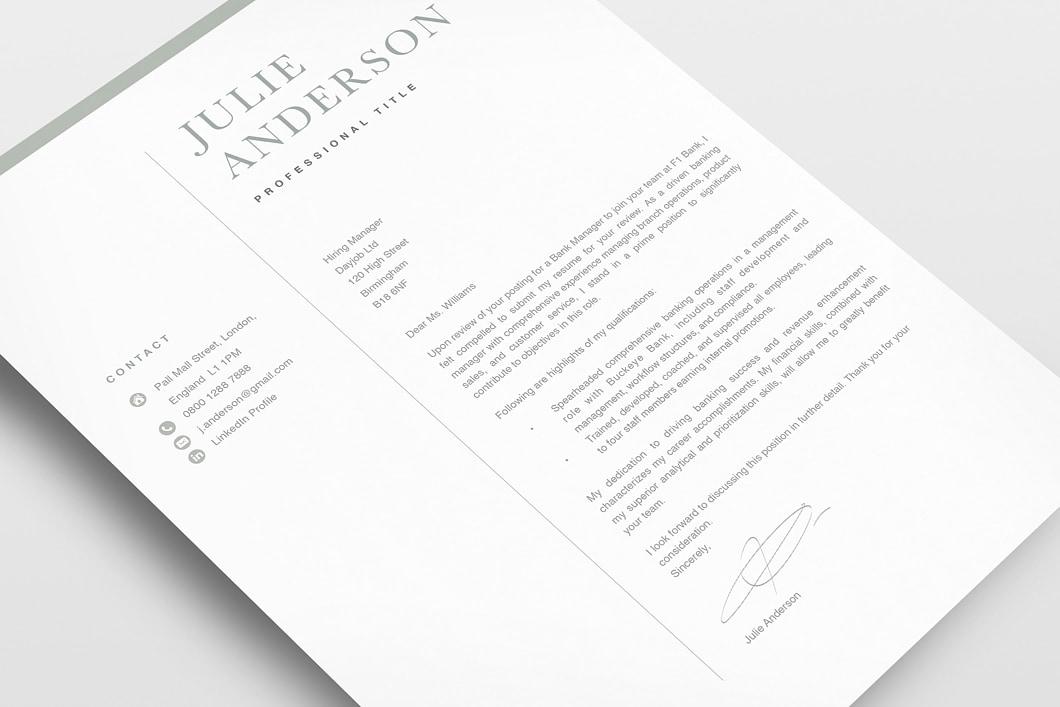 Modern Resume Template 120520 3