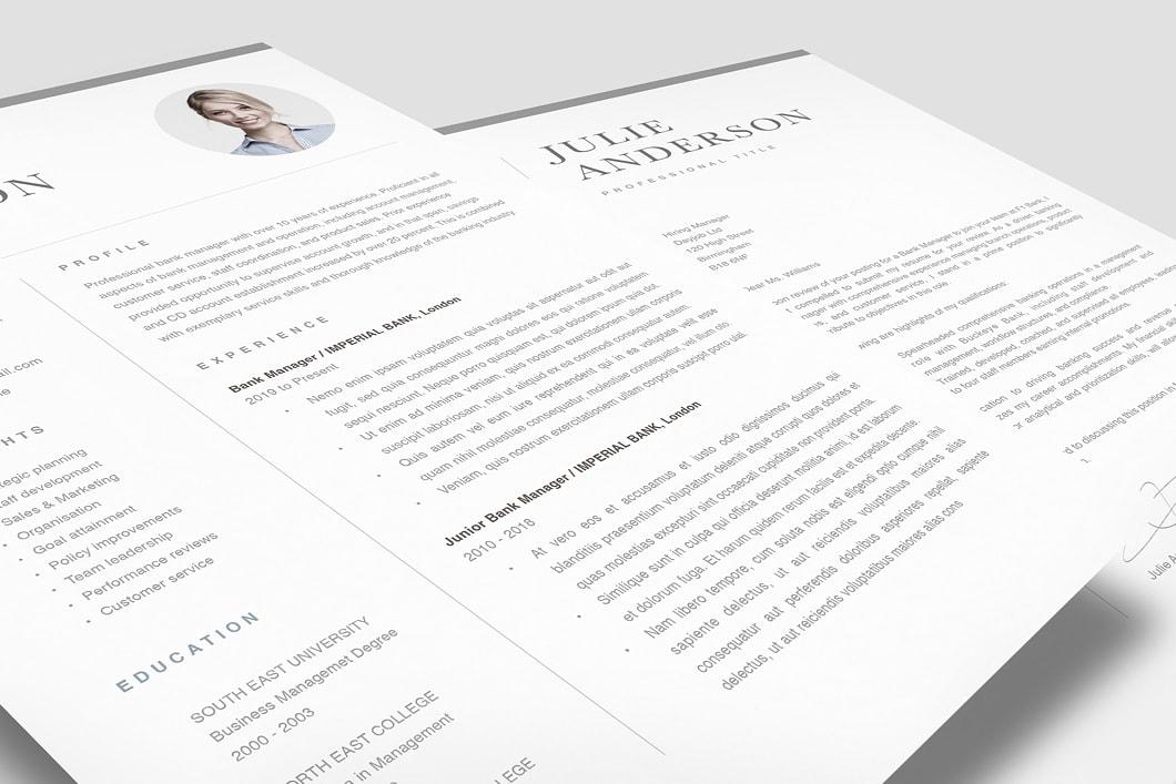 Modern Resume Template 120540 1