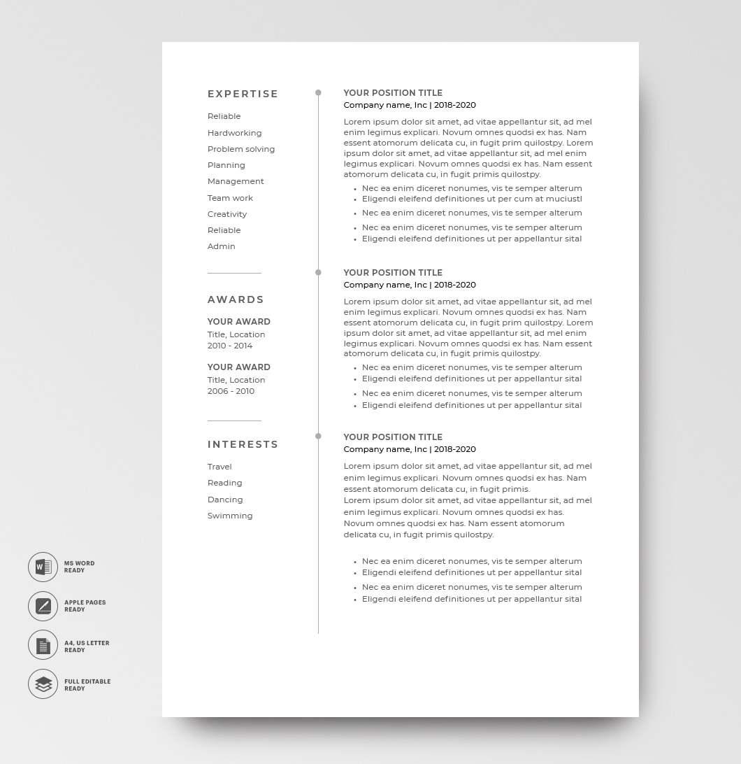 Resume 120660 2 Page