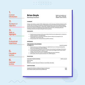 Resume Format 2021 Thumbnail Copy