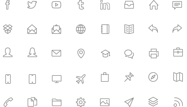 Resume Icon Pack