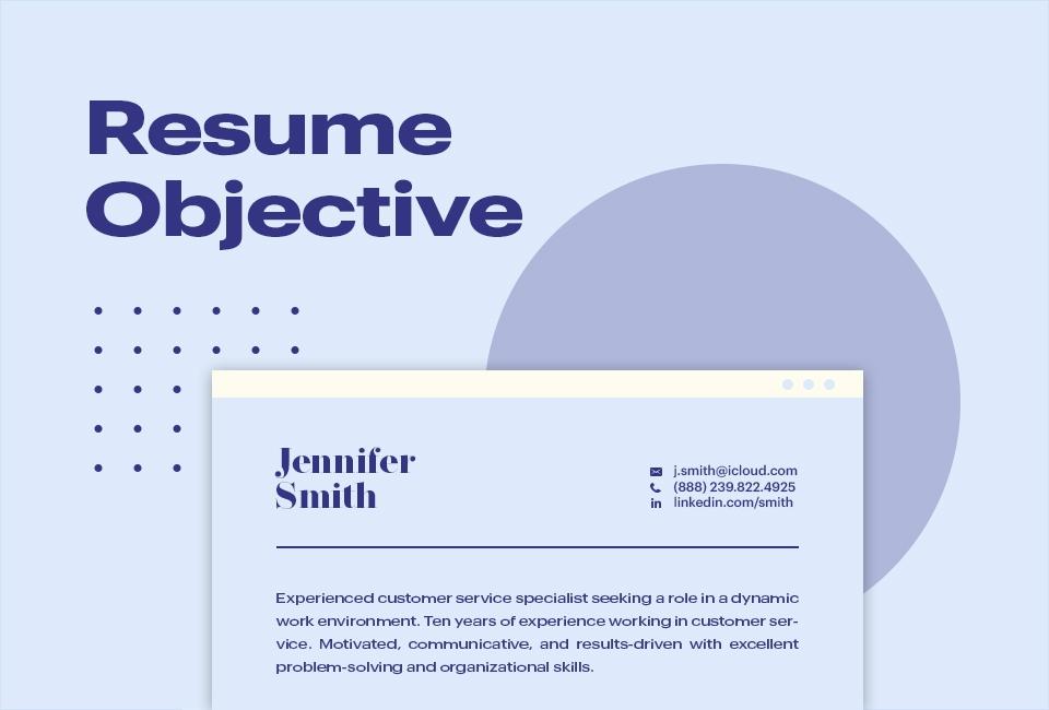 Resume Objective In 2020