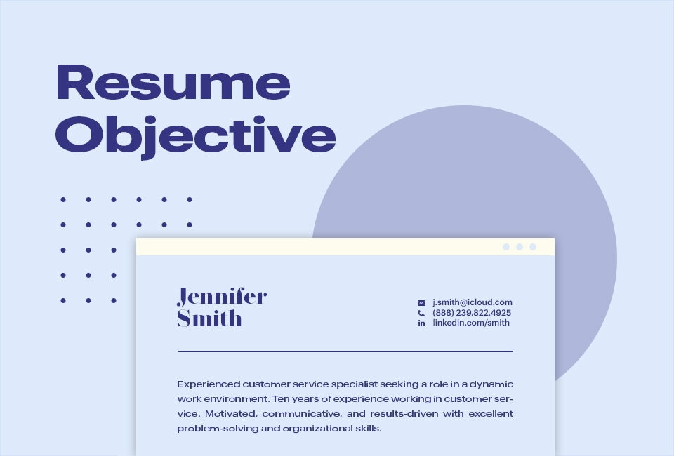 Resume Objective Tips
