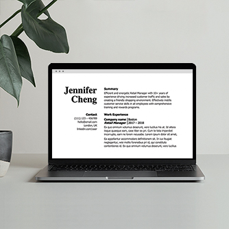 Resume Summary Writing Hero