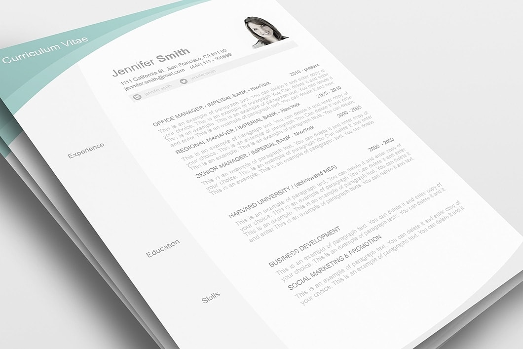 Resume Template 105040 0