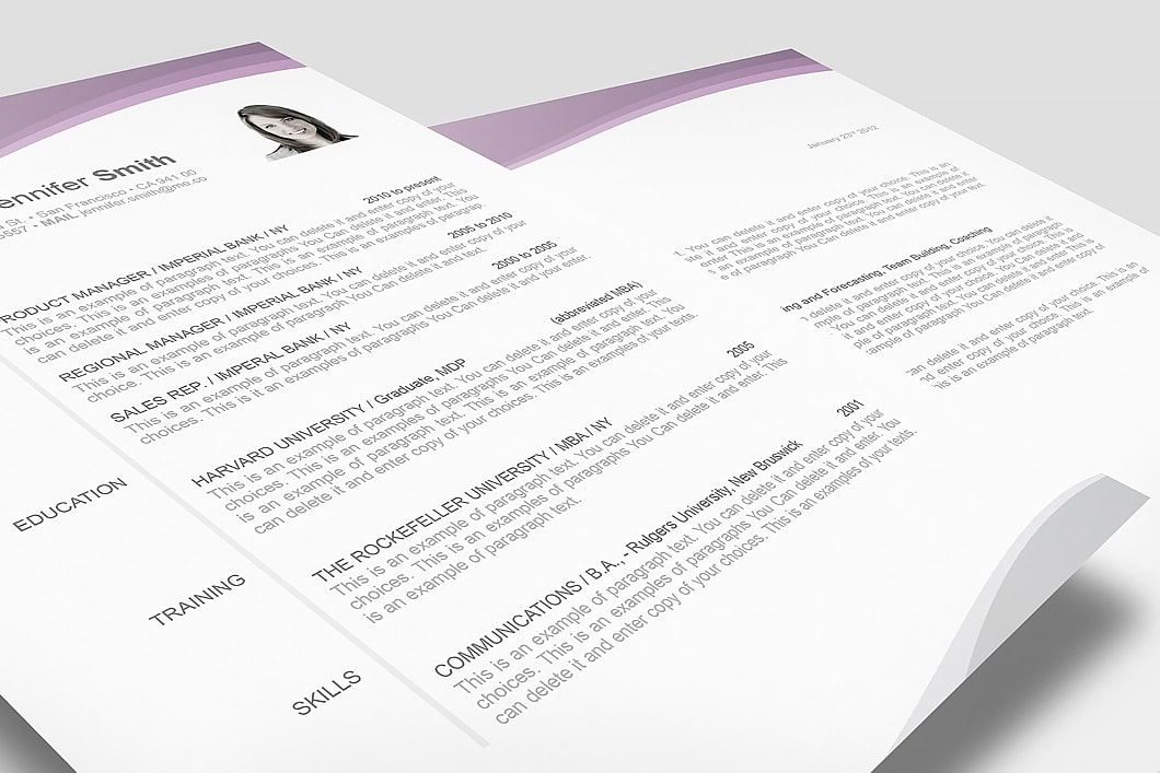 Resume Template 106030 3