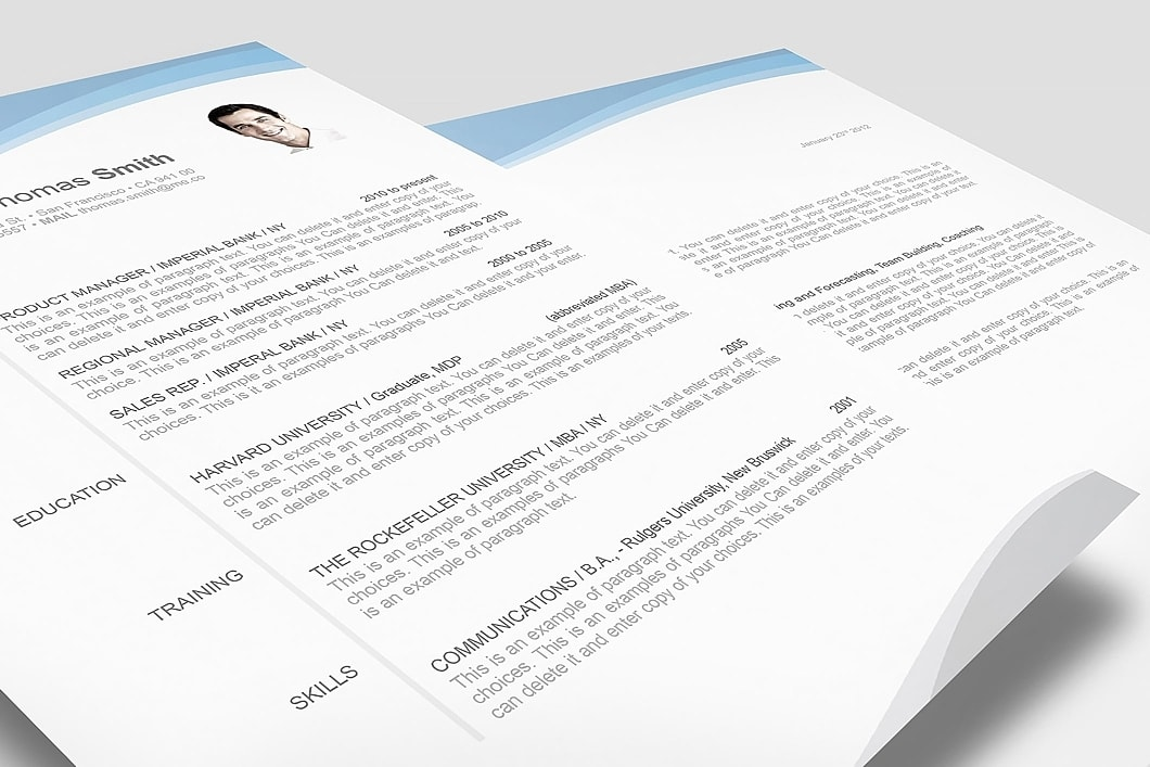 Resume Template 106040 3