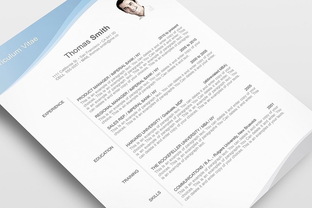 Resume Template 106040 5